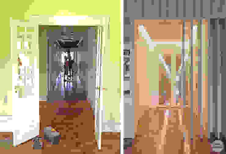 Remodelação de apartamento Avenidas Novas, Lisboa por Matos + Guimarães Arquitectos