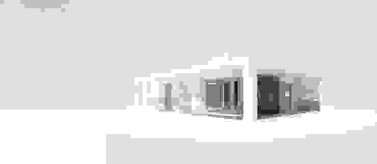 Vista norte / oeste de 1.61 Arquitectos Minimalista