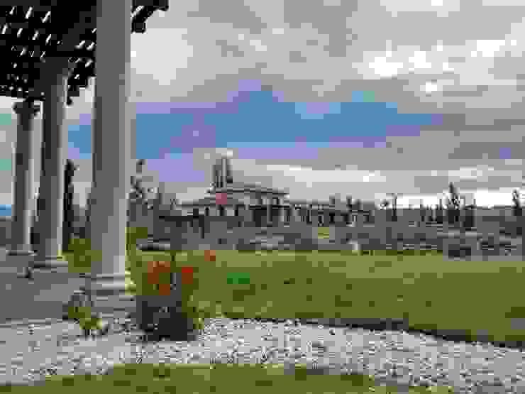 Vista noreste Casas coloniales de Azcona Vega Arquitectos Colonial