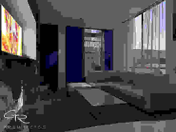 House Jc-1 Salones minimalistas de GT-R Arquitectos Minimalista