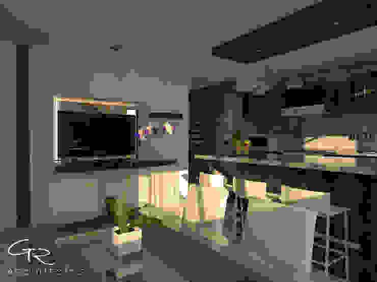 House Jc-1 Cocinas minimalistas de GT-R Arquitectos Minimalista