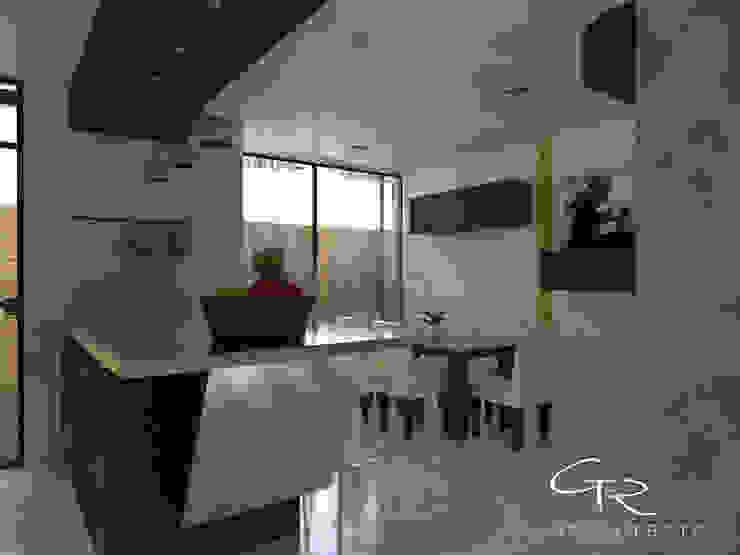 House Jc-1 Comedores minimalistas de GT-R Arquitectos Minimalista