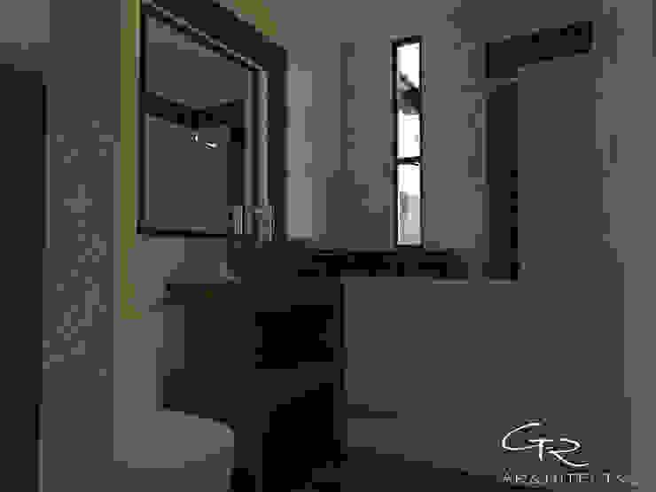 House Jc-1 Baños minimalistas de GT-R Arquitectos Minimalista