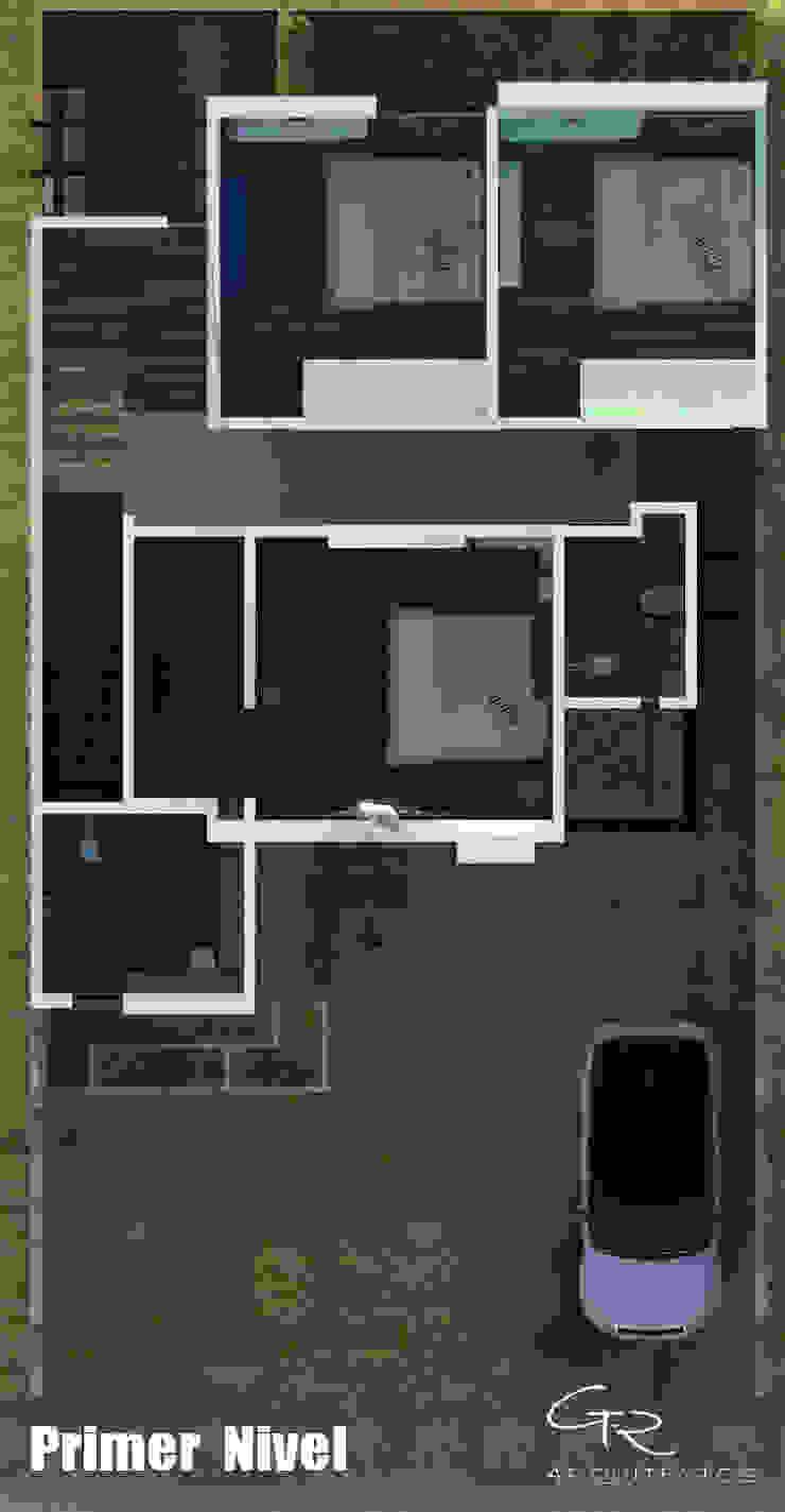 House Jc-1 de GT-R Arquitectos Minimalista
