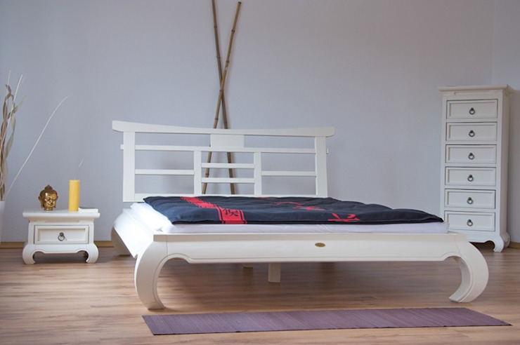 Moebelkultura.DE BedroomBeds & headboards Wood White