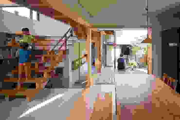 居間、庭 オリジナルな 庭 の アトリエ・ブリコラージュ一級建築士事務所 オリジナル