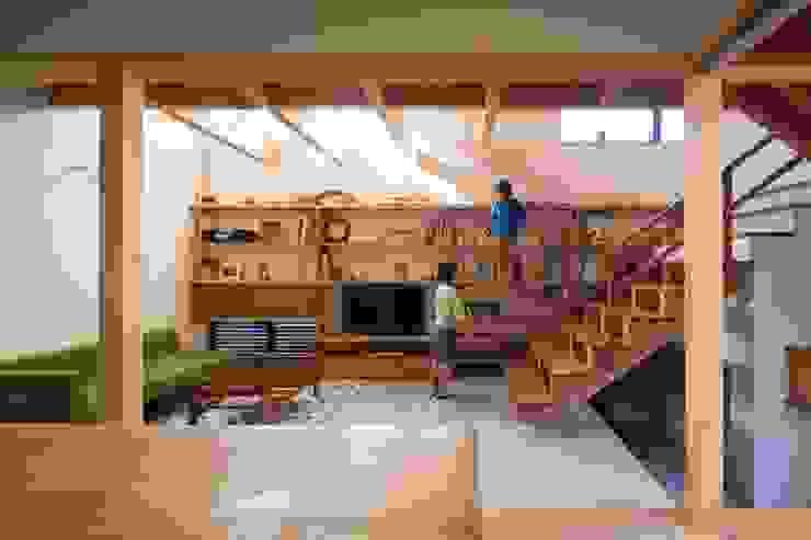 大きな階段 オリジナルスタイルの 玄関&廊下&階段 の アトリエ・ブリコラージュ一級建築士事務所 オリジナル