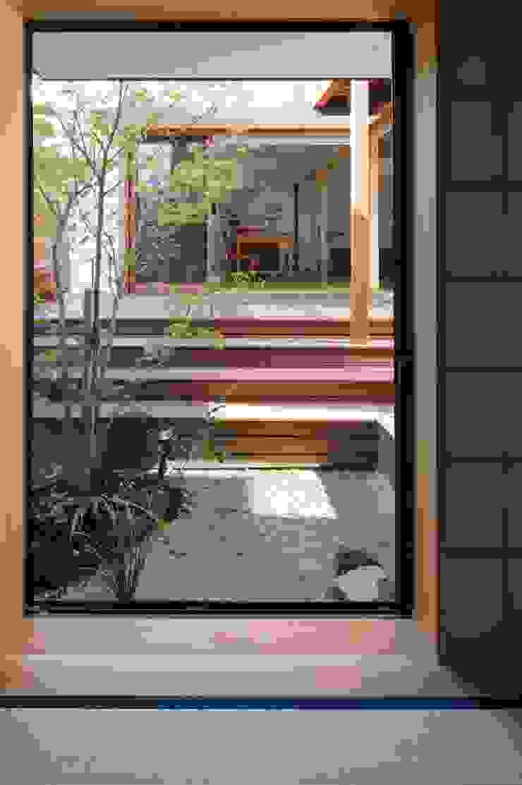 中庭 オリジナルな 庭 の アトリエ・ブリコラージュ一級建築士事務所 オリジナル