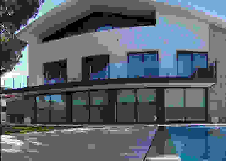 Fachada Principal Casas modernas por Belgas Constrói Lda Moderno