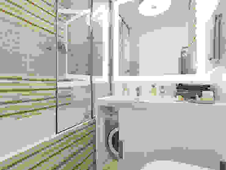 Визуализация: квартира в Петербурге : Ванные комнаты в . Автор – OK Interior Design,