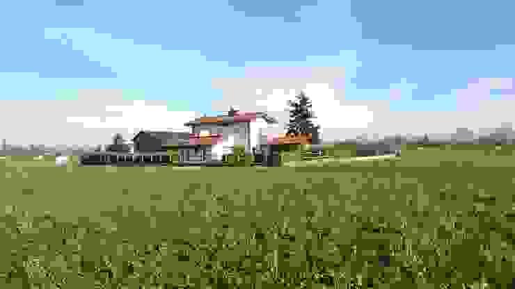 INSERIMENTO AMBIENTALE Case moderne di Roberta Bonavia Architetto Moderno