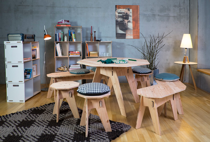 par Werkhaus Design + Produktion GmbH Moderne Bois Effet bois