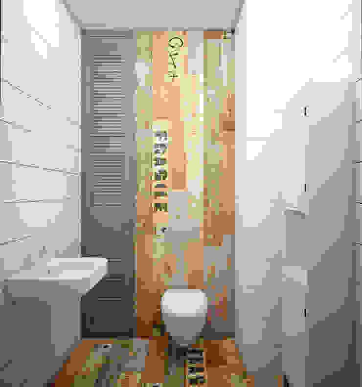 Baños de estilo escandinavo de Юлия Максимук Escandinavo