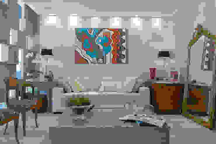 Salas de estilo  por Emmilia Cardoso Designers Associados, Moderno