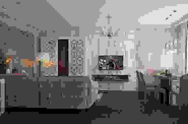 Salas de estilo ecléctico de Юлия Максимук Ecléctico