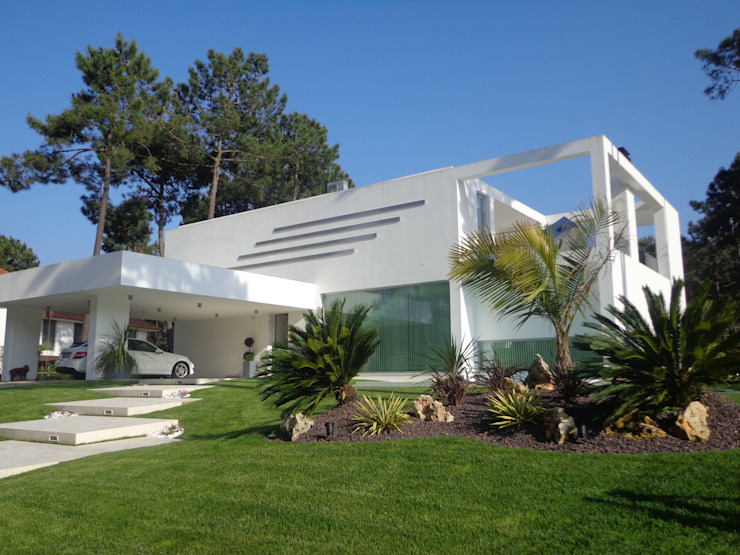 Moradia Palmeirim Casas modernas por Planinfinito Moderno