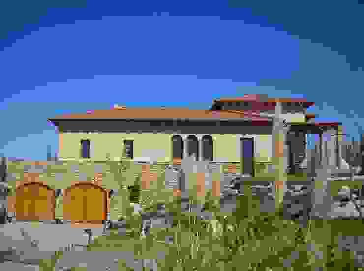 Vista Este Casas mediterráneas de Azcona Vega Arquitectos Mediterráneo