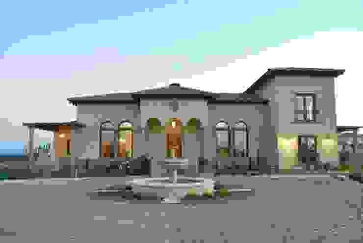 Дома в . Автор – Azcona Vega Arquitectos, Средиземноморский