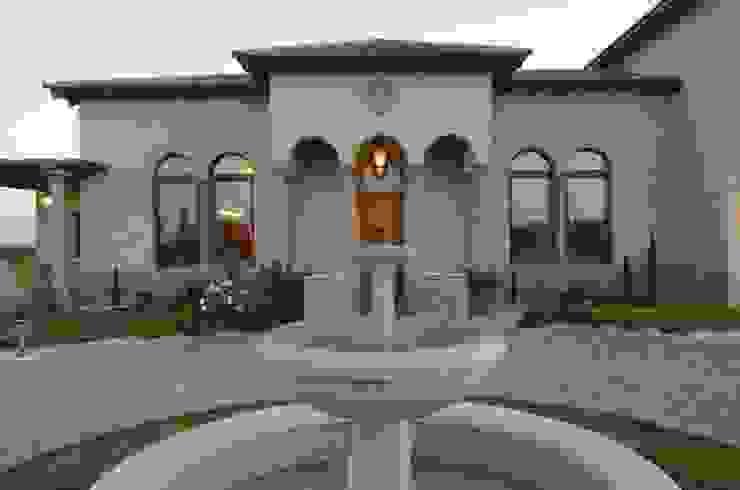 Fuente acceso Balcones y terrazas mediterráneos de Azcona Vega Arquitectos Mediterráneo