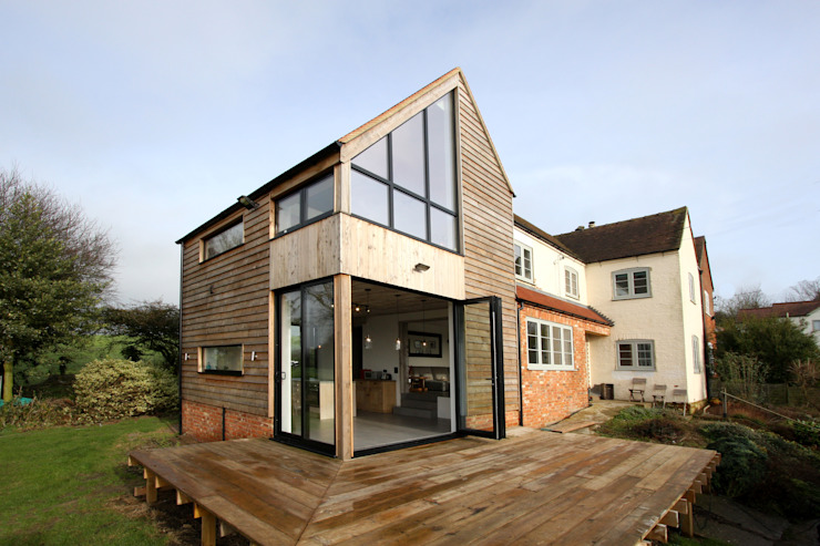 Eastington Lane Fenêtres & Portes modernes par IQ Glass UK Moderne