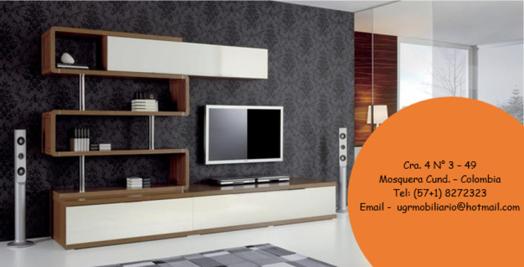 Inmobiliario Viviendas - Oficinas. de UGR Mobiliario S.A.S Moderno