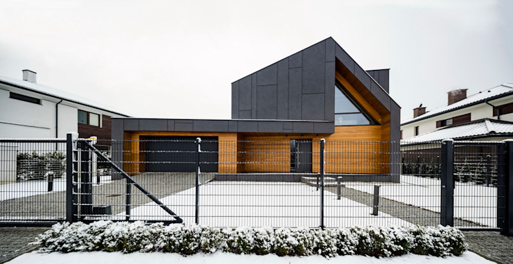 Casas de estilo  por BECZAK / BECZAK / ARCHITEKCI