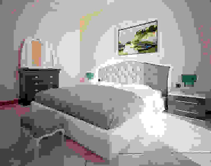 RENDERING 3D – DISPOSIZIONE ARREDO IN AMBIENTI ESISTENTI 2P COSTRUZIONI srl Camera da letto in stile classico