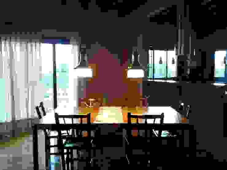 Comedor Comedores rústicos de Azcona Vega Arquitectos Rústico