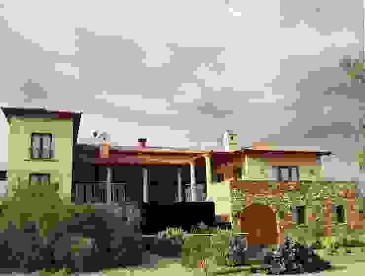 Vista Sur Casas mediterráneas de Azcona Vega Arquitectos Mediterráneo