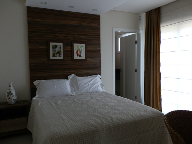 MBDesign Arquitetura & Interiores Modern style bedroom