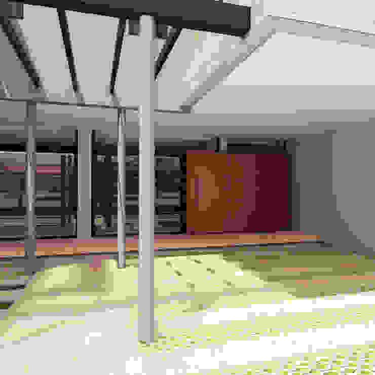 Viviendas JRV Garajes minimalistas de Comodo-Estudio+Diseño Minimalista