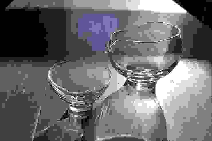 フワリ 酒器: 808 GLASSが手掛けた折衷的なです。,オリジナル ガラス