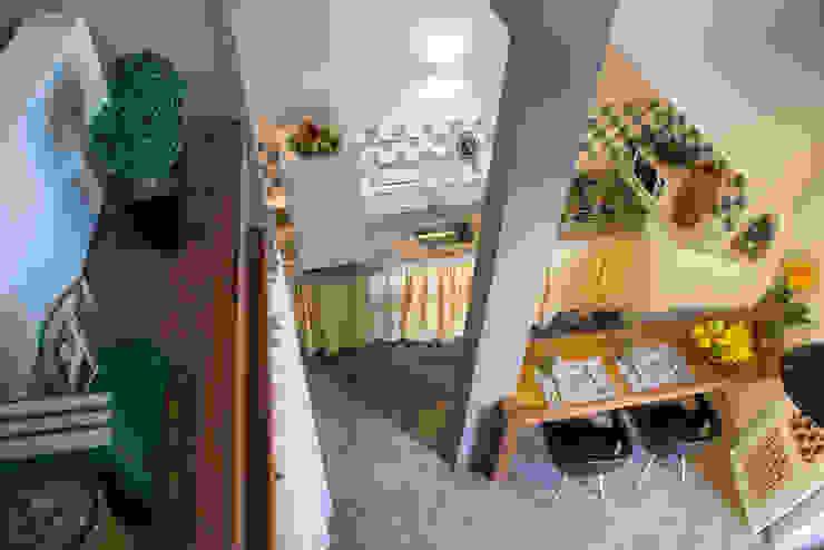 LOFT VOVÔ Salas de jantar modernas por MEIUS ARQUITETURA Moderno