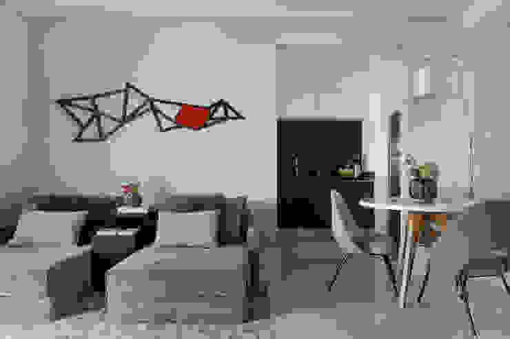 Campo Belo Salas de estar modernas por Studio GPPA Moderno