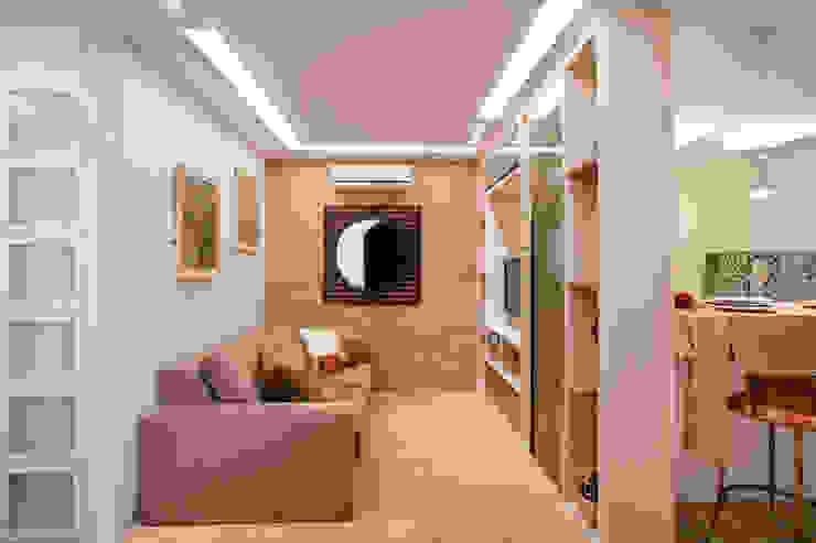 Projetos Salas de estar modernas por tfarqdesign Moderno