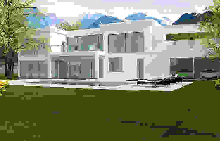 2P COSTRUZIONI srl Rumah Modern