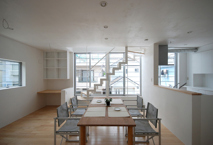 Eclectic style dining room by SUR都市建築事務所 Eclectic