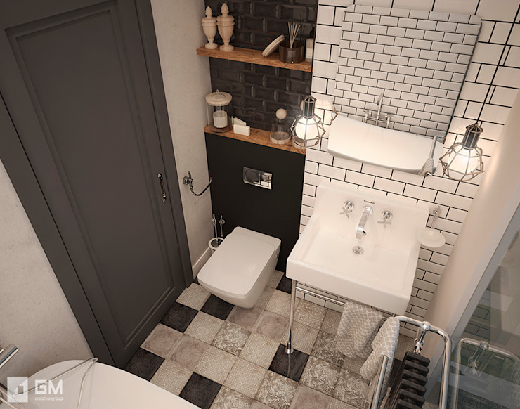 Salle de bains de style  par GM-interior, Scandinave