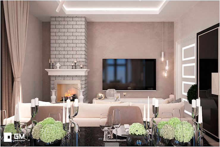 Modern living room by GM-interior Modern