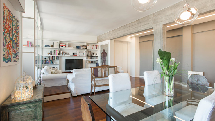 Archifacturing Living room White