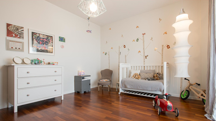Nursery/kid's room by Archifacturing, Scandinavian