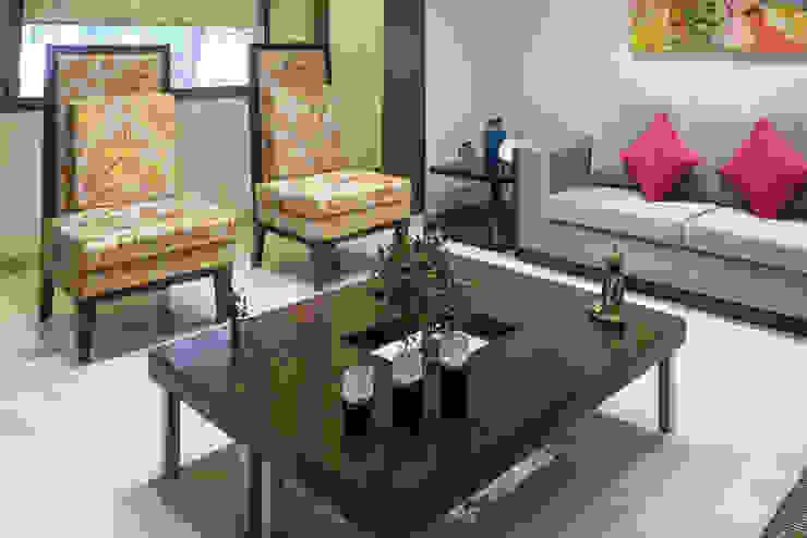 Chand Residence Modern living room by Studio Ezube Modern