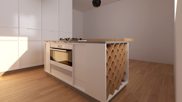 Cozinha Chaves Cozinhas minimalistas por Mdimension Minimalista
