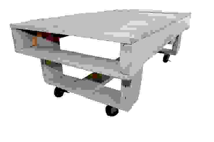2 PALLET SET - table por studiomuda Minimalista