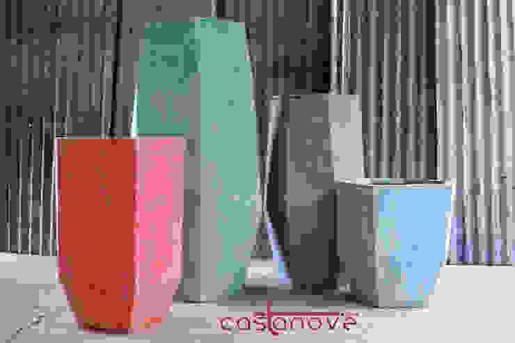 Putingbato polystone planters Castanove Manufacturing Corp. 花園植物盆栽與花瓶