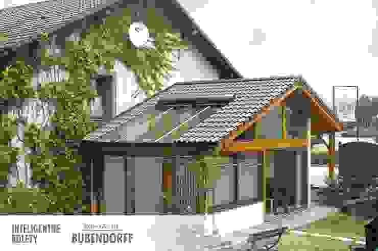 Modern conservatory by Inteligentne Rolety Bubendorff Modern Aluminium/Zinc