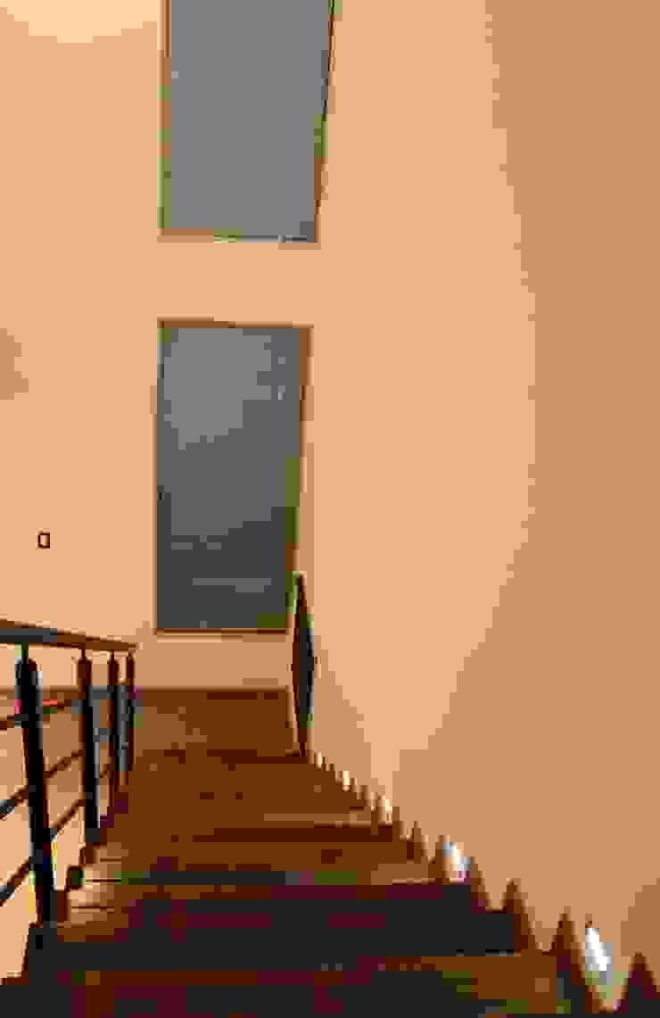 Vivienda La Colmena Puertas y ventanas minimalistas de medrArq Minimalista