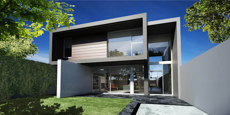 Modern Houses by FT Arquitectura Modern