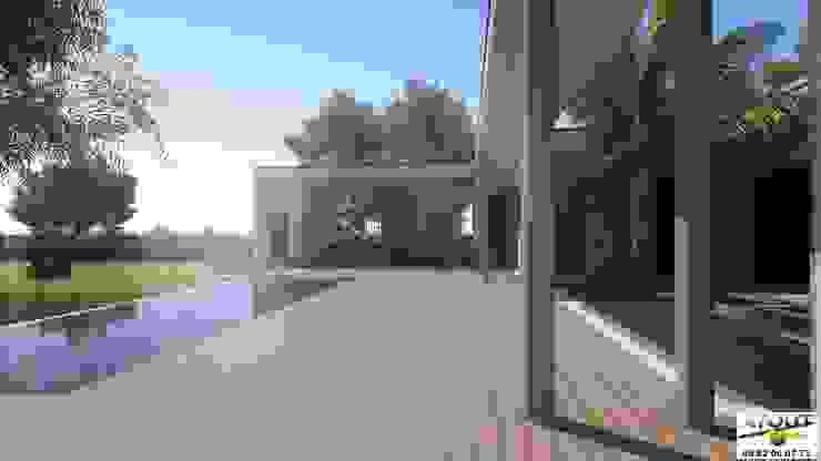 Jardins  por Atoutplans Architecture