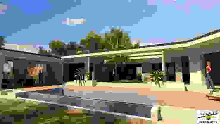 Piscinas  por Atoutplans Architecture
